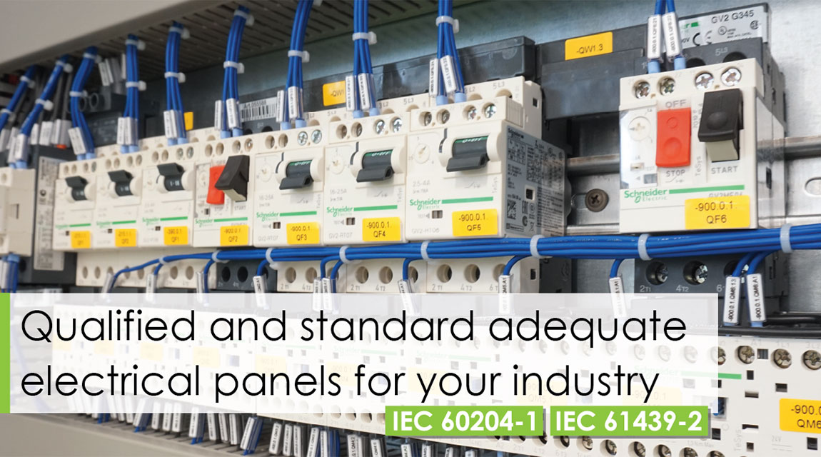 Standarts 61439-2 and IEC 60204-1